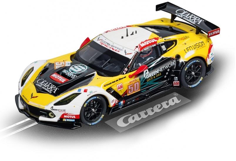 Carrera Digital 132 racebaan auto Chevrolet Corvette C7.R No.50