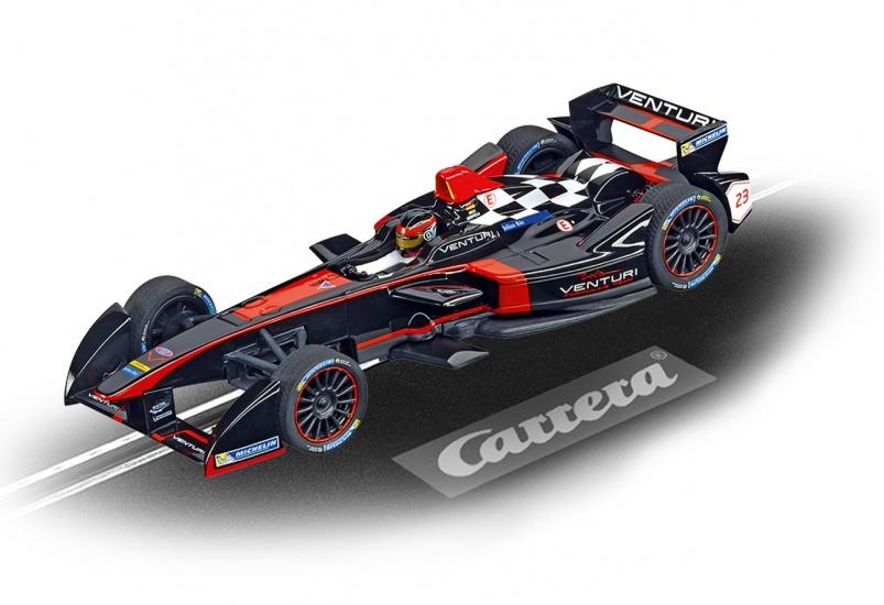 Carrera Digital 132 racebaan auto Formule E Venturi N.Heidfeld
