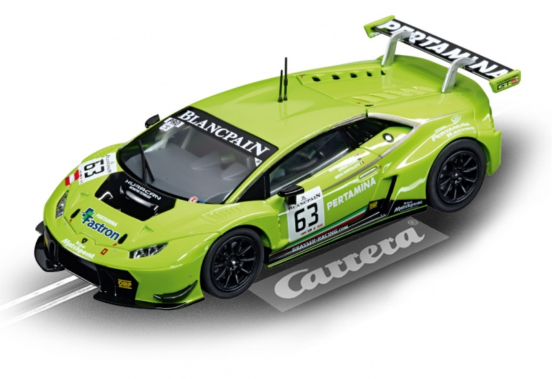 Carrera Digital 132 racebaan auto Lamborghini Huracán GT3 No.63
