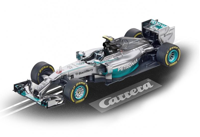Carrera Digital 132 racebaan auto Mercedes F1 W05 N.Rosberg