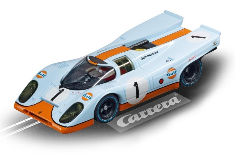 carrera digital 132 car racetrack porsche 917 gulf racing. Black Bedroom Furniture Sets. Home Design Ideas