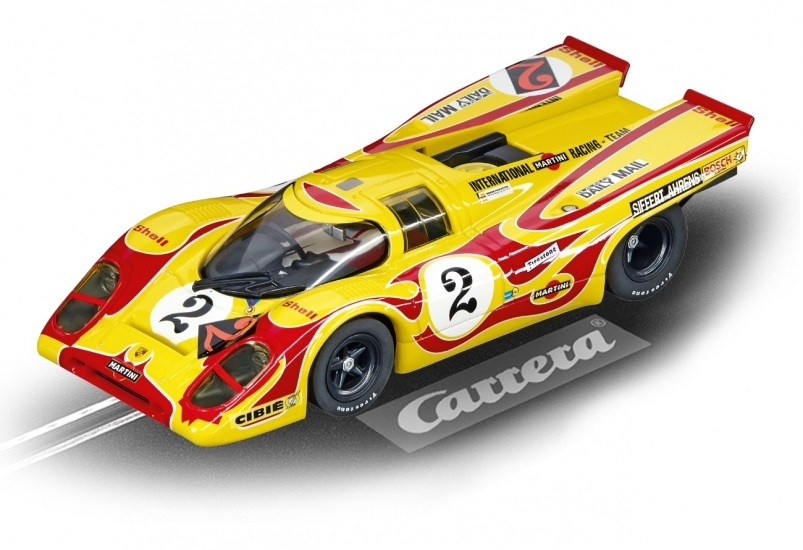 Carrera Digital 132 racebaan auto Porsche 917K Martini Int No.2