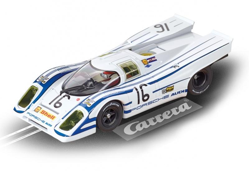 Carrera Digital 132 racebaan auto Porsche 917K Sebring No.16