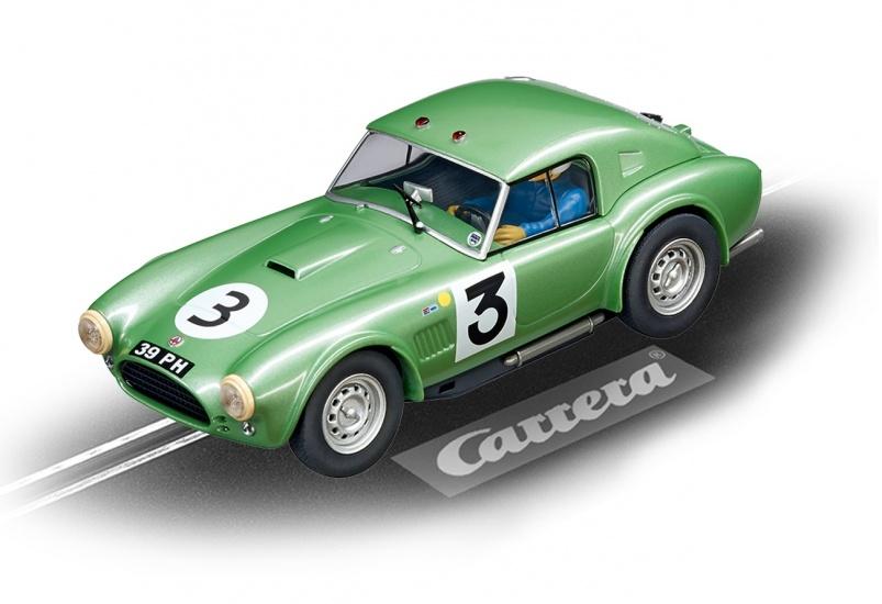 Carrera Digital 132 racebaan auto Shelby Cobra hardtop Coupe No.3