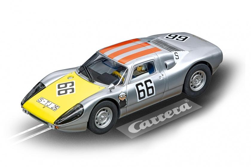 Carrera Digital 132 racebaanauto Porsche 904 Carrera 1:32 grijs