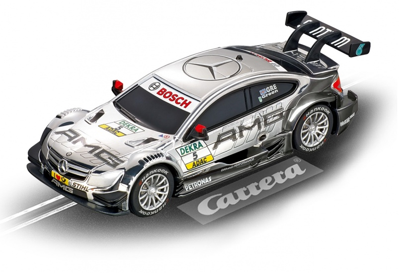 Carrera Digital 143 racebaan auto AMG Mercedes C Coupe DTM No.5