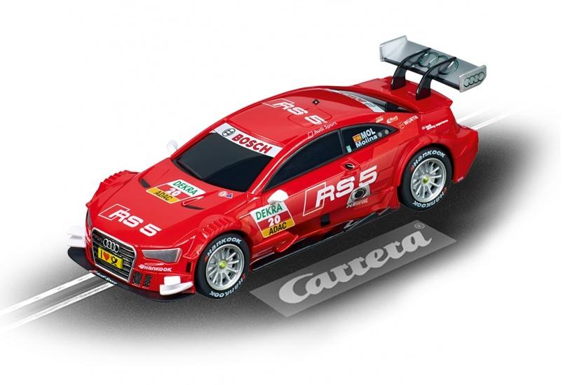 Carrera Digital 143 racebaan auto Audi A5 DTM M.Molina, No.20