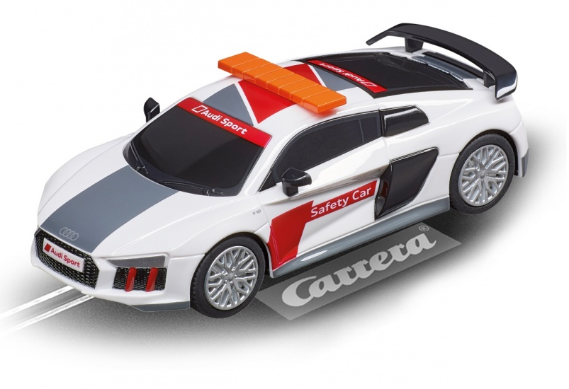 Carrera Digital 143 racebaan auto Audi R8 V10 Plus Safety Car