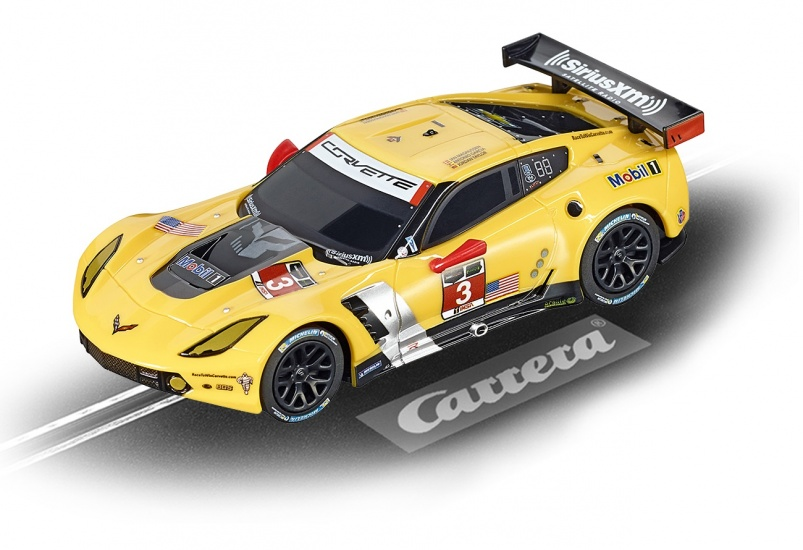 Carrera Digital 143 racebaan auto Chevrolet Corvette C7.R No.3