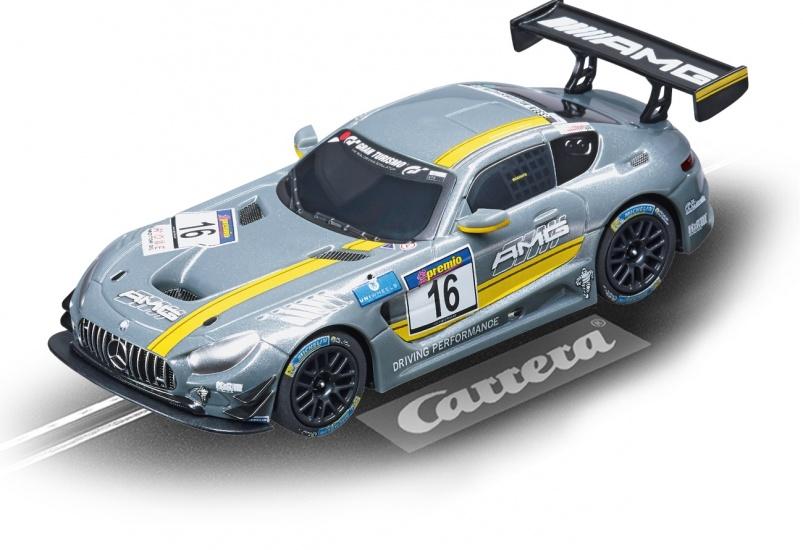 Carrera Digital 143 racebaan auto Mercedes AMG GT3, No.63