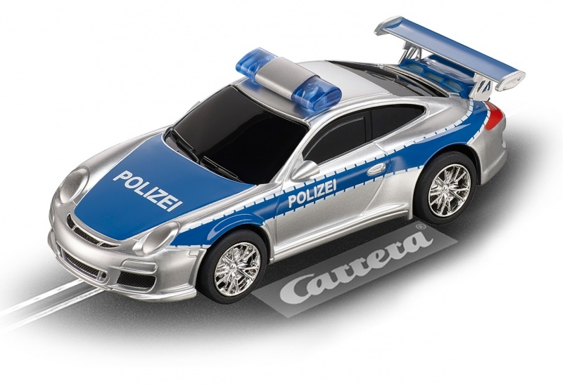 Carrera digital 143 duitse politieauto, porsche gt3