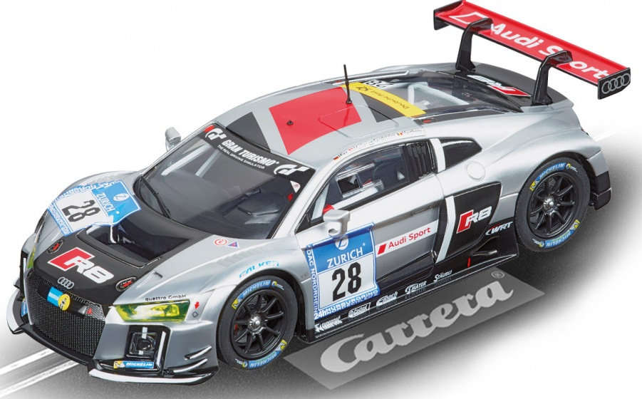 Carrera Evolution Cars racebaan auto Audi R8 LMS No.28
