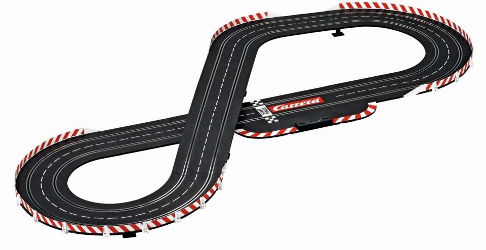 Carrera DTM Speed Duel racebaan met auto's 530 cm zwart