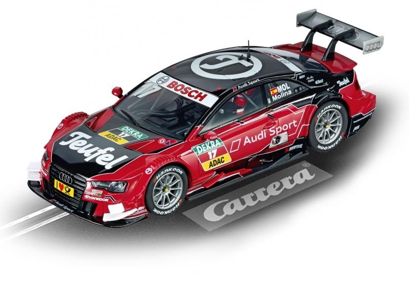 Carrera Evolution racebaan auto Audi A5 DTM M.Molina, No.17