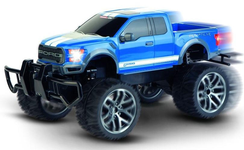 Carrera Ford F 150 Raptor RC pickup truck blauw 1:14