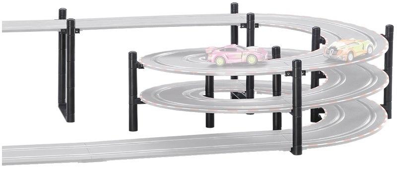 Carrera Go 3D stabiliteitsonderdelen kunststof zwart