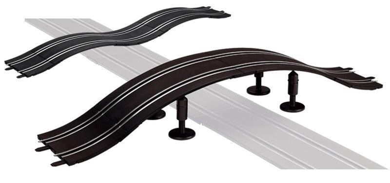 Carrera Go Brugbaan kunststof zwart