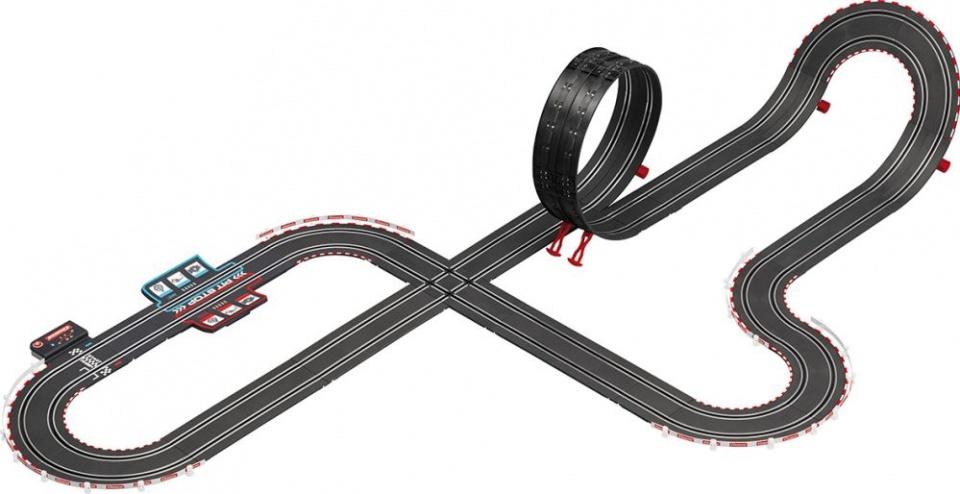 Carrera Go DTM Splah 'n dash racebaan en auto's 680 cm