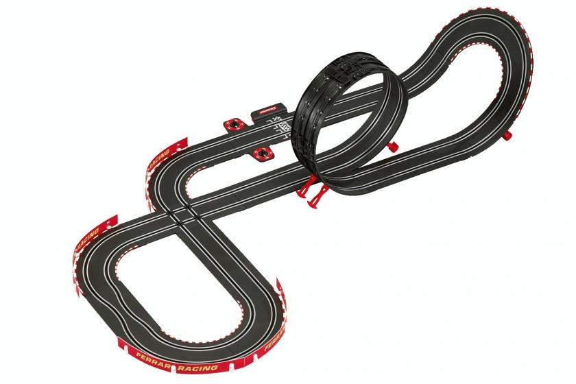Carrera Go Ferrari Race Spirit racebaan met auto's 530 cm zwart