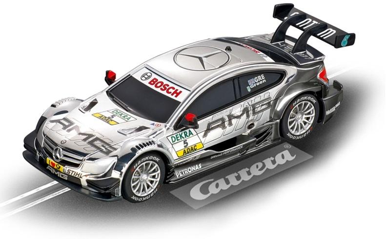 Carrera Go racebaan auto AMG Mercedes C Coupe DTM J. Green