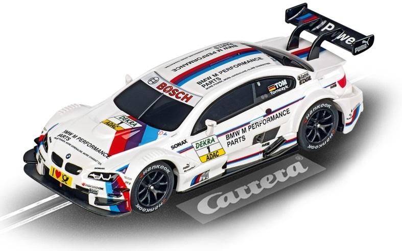 Carrera Digital 143 racebaan auto BMW M3 DTM M. Tomczyk