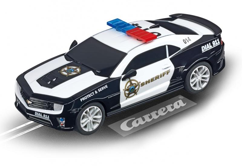 Carrera Go racebaan auto Chevrolet Camaro ZL1 2015 sheriff