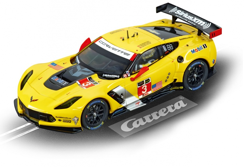 Carrera Evolution racebaan auto Chevrolet Corvette C7.R No.03