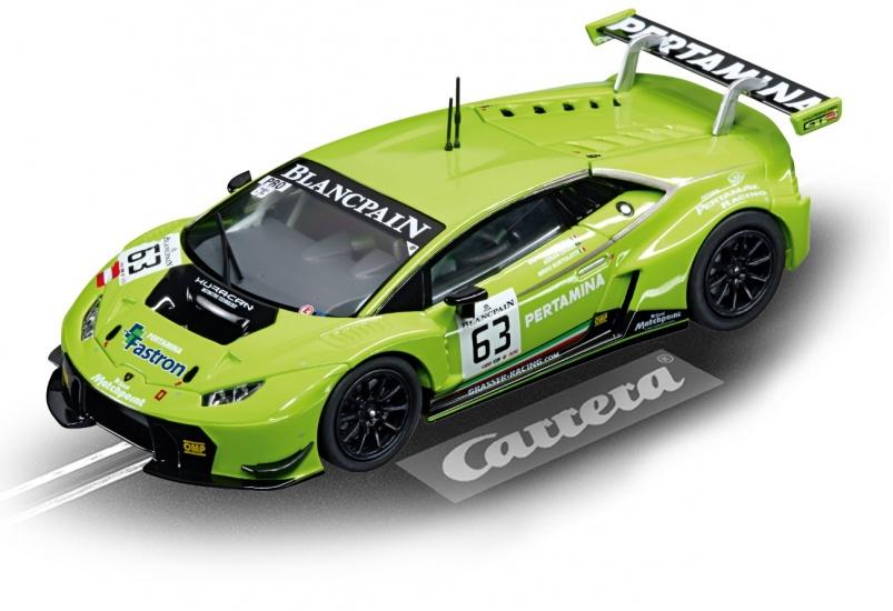 Carrera Go racebaan auto Lamborghini Huracán GT3 No.63 lgroen