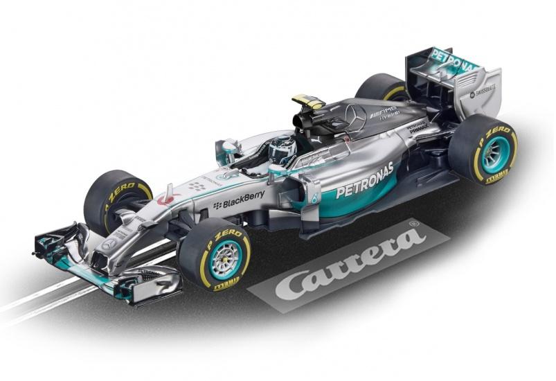 Carrera Go racebaan auto Mercedes F1 W05 Hybrid N.Rosberg