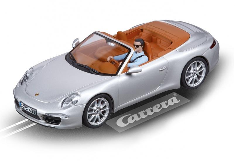Carrera Evolution racebaan auto Porsche 911 Carrera S zilver