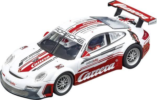 """Carrera DIG132 Porsche 911 GT3 RSR Lechner Racing """"Carrera Race Taxi"""" - Racebaanauto prijzen vergelijken. Klik voor vergroting."""