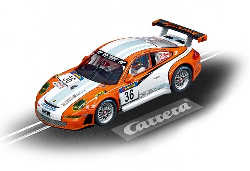 Carrera Evolution racebaan auto Porsche GT3 RSR Hybrid No.36