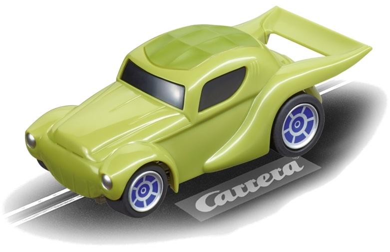 Carrera Go racebaan auto Yoda groen
