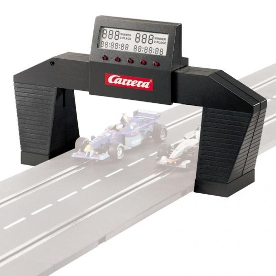 Carrera Go racebaan electronische rondenteller zwart