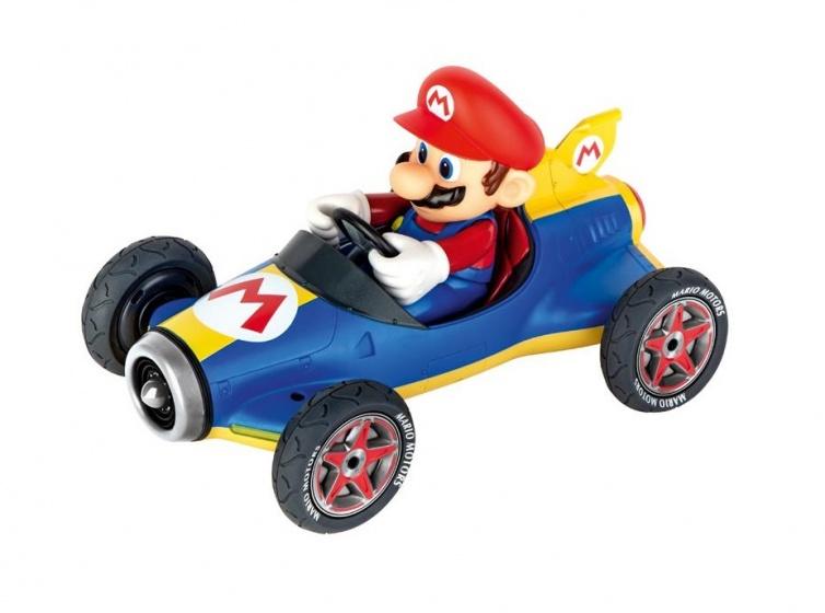 Carrera Mario Kart Mach 8 geel-blauw