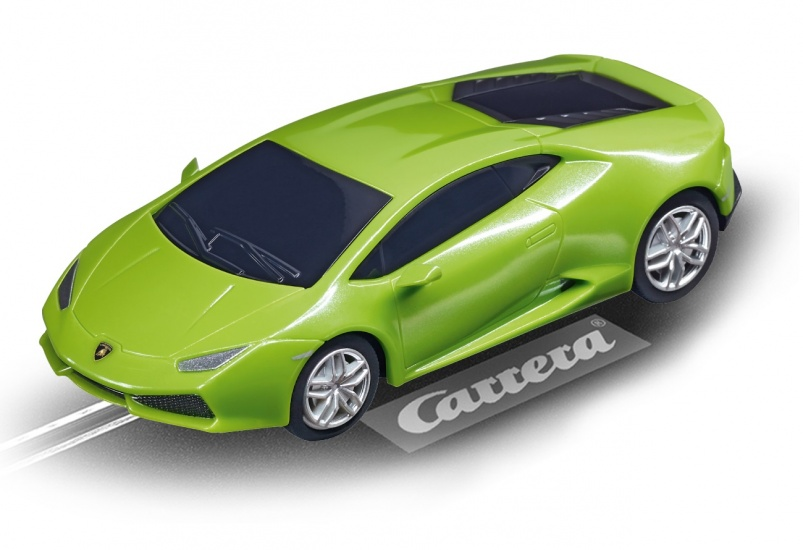 Carrera Go racebaan auto Lamborghini Huracán LP 610 4 groen