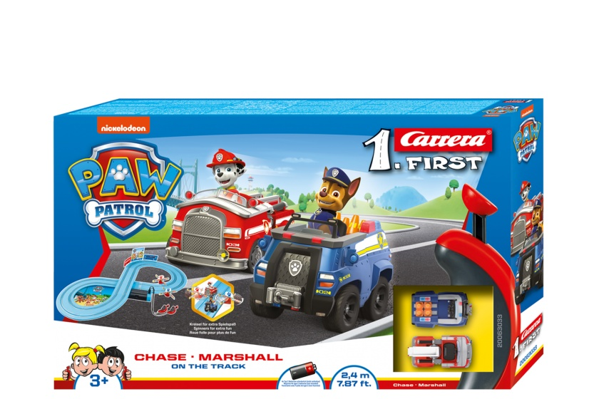 racing track set First Paw Patrol240 cm blue
