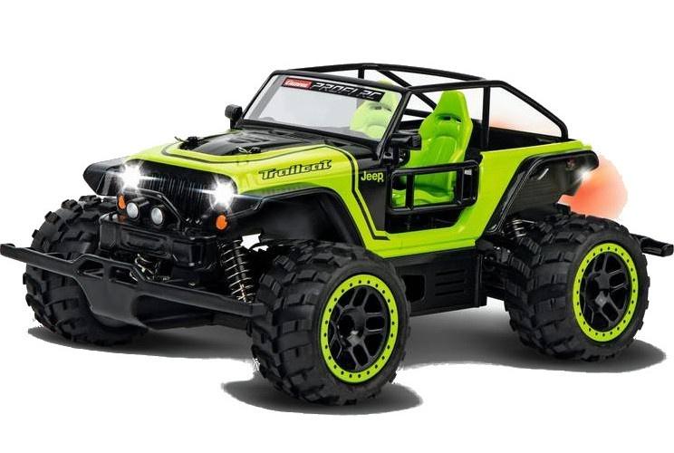 Carrera Jeep[R] Trailcat -AX- Carrera(C) Profi(C) RC - Bestuurbare auto prijzen vergelijken. Klik voor vergroting.