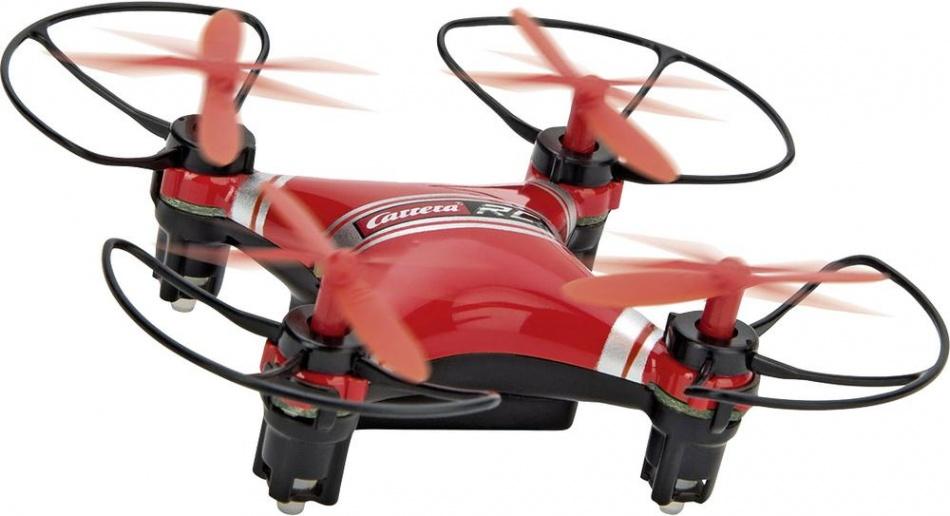 Carrera RC micro quadcopter 2 drone rood 8 x 8 cm
