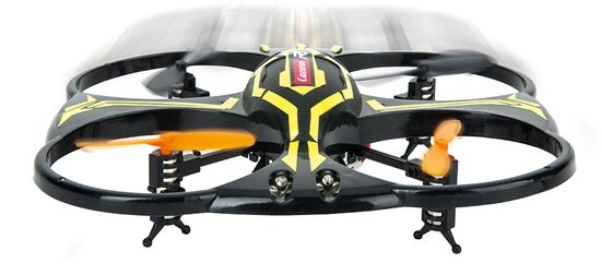 Carrera RC quadcopter CRC X1 drone zwart/geel 17 x 17 cm