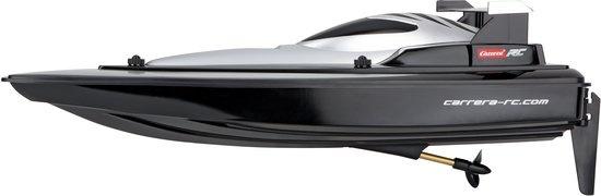 Carrera RC raceboot zwart lengte 41 cm