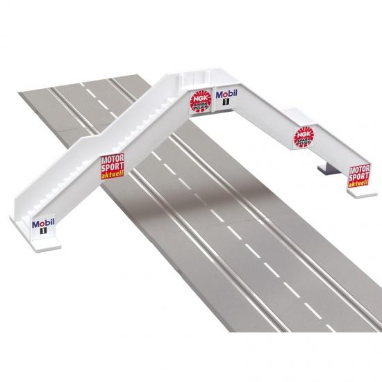 Carrera Voetgangersbrug 47x10x17,5 cm