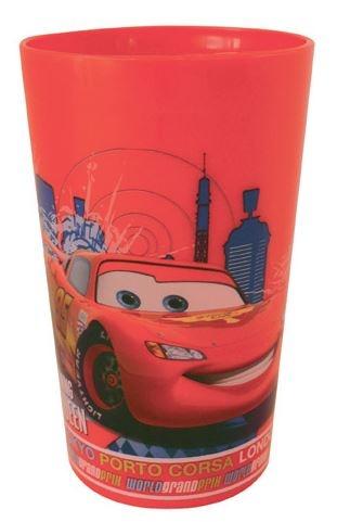 Disney Cars beker kunststof 270 ml rood