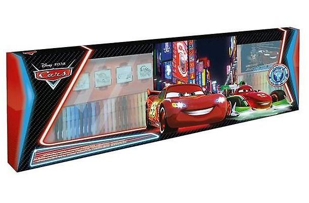 Disney kleur en stempelset Cars 125 delig