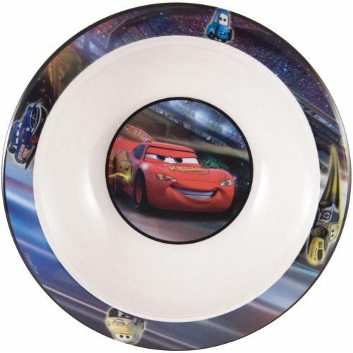 Disney Cars kom kunststof 16 cm wit rood