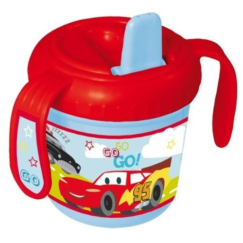 Disney Cars tuitbeker kunststof 280 ml rood