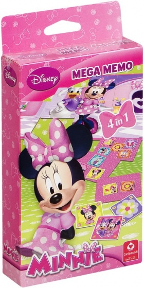 Cartamundi spelbox Minnie Mouse 4 in 1