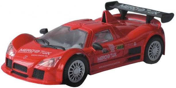 Cartronic 124 Racebaan Auto Apollo Gumpert rood