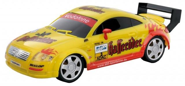 Cartronic 124 Racebaan Auto Audi TT Hasseröder geel