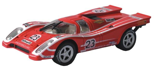 Cartronic 124 Racebaan Auto Porsche 917 K rood